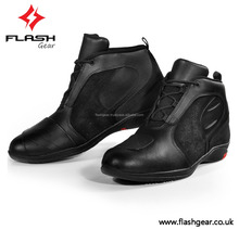 Mid Calf Flash Gear motorbike Race Shoes, Best protective Riding Shoes, Waterproof CE Biker Shoes OEM Custom Logo Racing Shoes