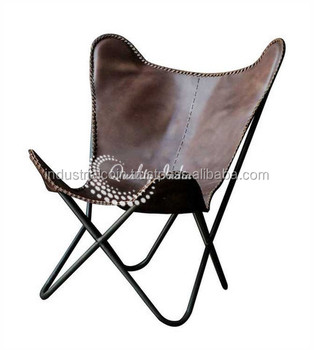 Lay Back Relax Leather Beach Chair