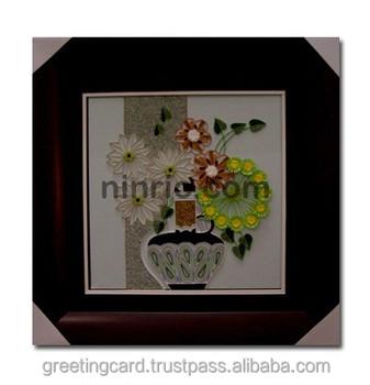 çiçek Sepeti Boyama Quilling Dekoratif Buy Quilling Tasarımlar