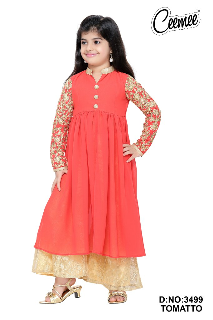 Latest Stylish Girls Dresses -plazo Suit - Buy Girls Casual Pazzo Suit ...