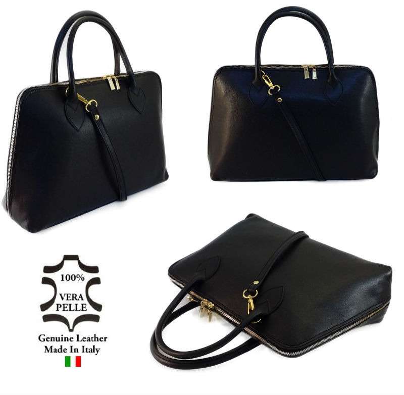 Leather Bags Handbag Made In Italy Art. 04 - Buy Genuine Leather ...