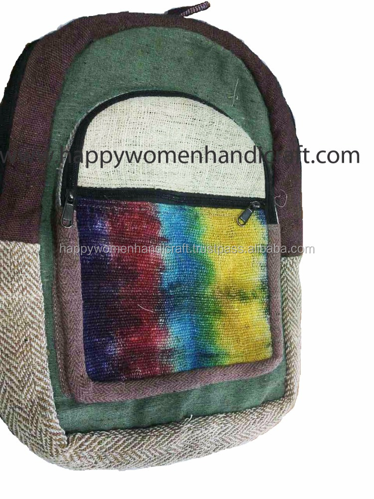 Hemp Bag Pack1-Unisex