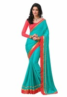 Party Wear Online Shopping Embroidered Saree