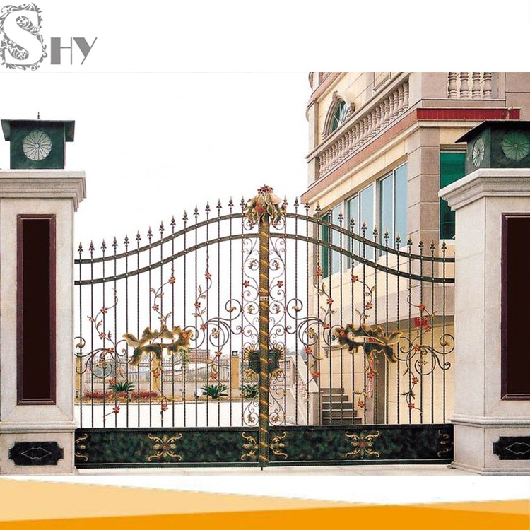 Pipe Fence Entrance Gates