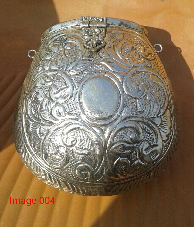 New New Vintage Elegant Brass Evening Pouch Metal Bag - Buy Indian  IK14