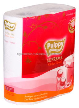 PULPPY SUPREME CHICKEN TOWEL PACK 2 ROLLS