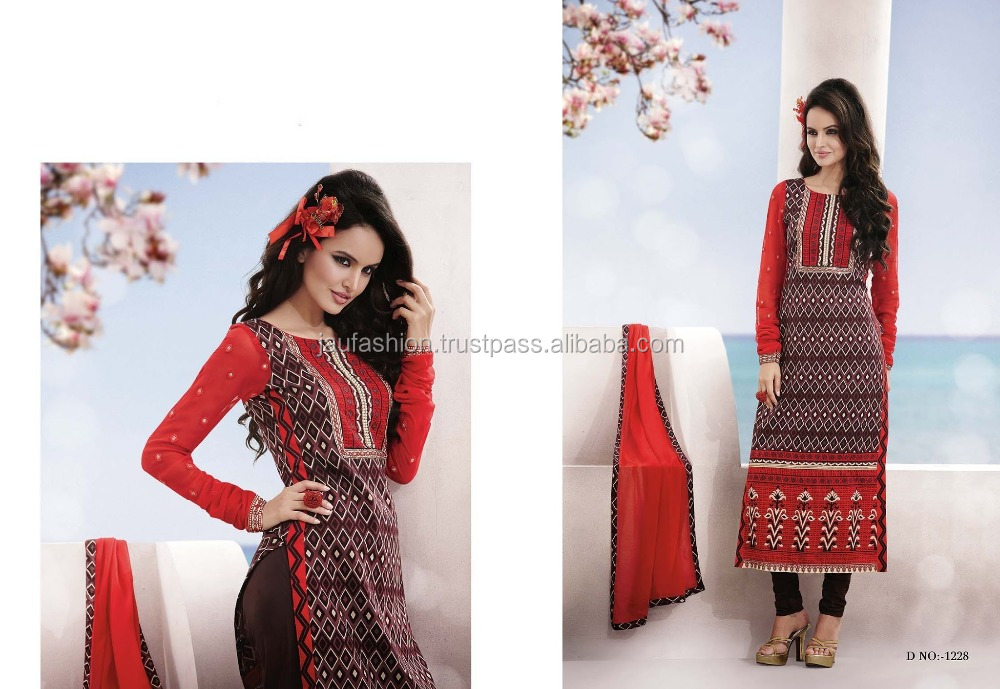 Designer Cotton Salwar Kameez Catalogue 2015