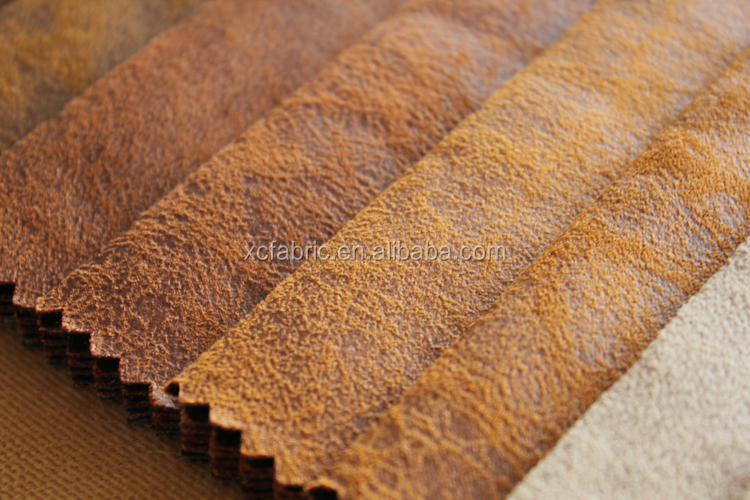 bronzing Knitted Suede For Home Textile sofa bafric
