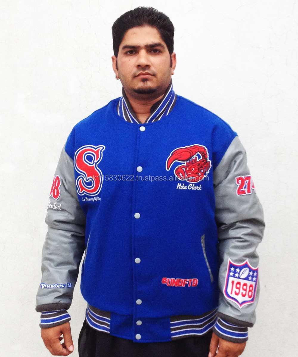 Real Leather Letterman Jackets / Real Leather Varsity Jackets ...