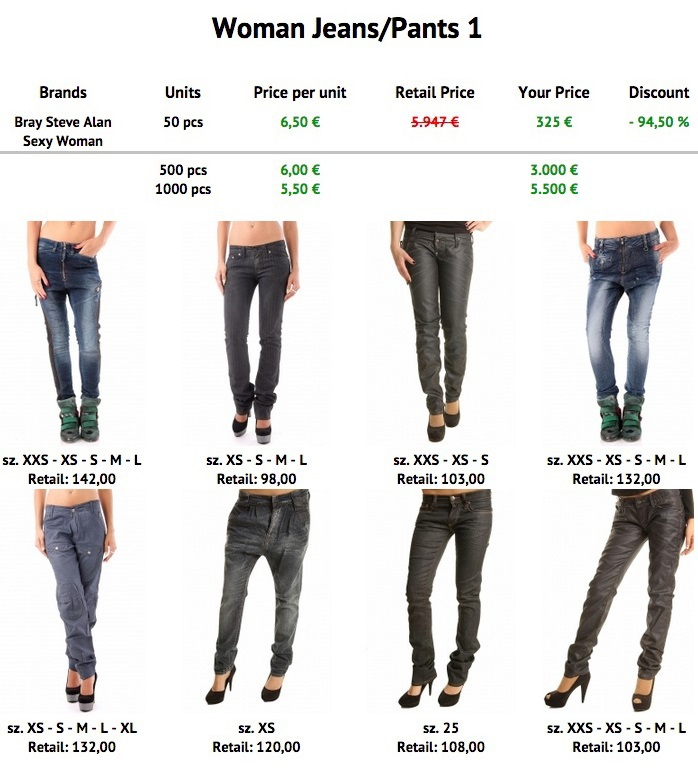 Luxury Different Types Of Pants For Women  Other