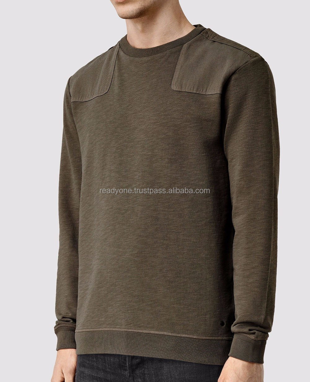 sweat shirt for men custom long sleeve