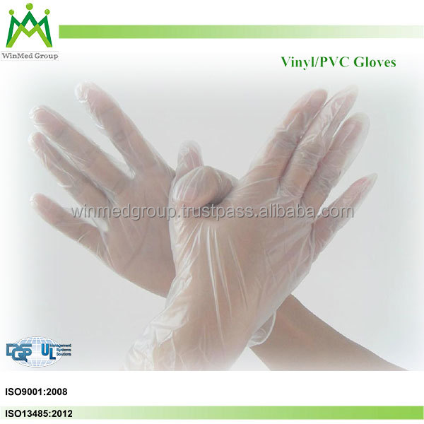 Powder Free Latex / Nitrile/ Pvc /vinyl Exam Medical Gloves