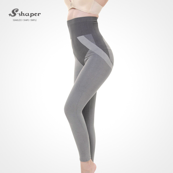 d494e010ce S-SHAPER Slim Long Panty Tourmaline Sexy Work Out Legging Bamboo Shapewear