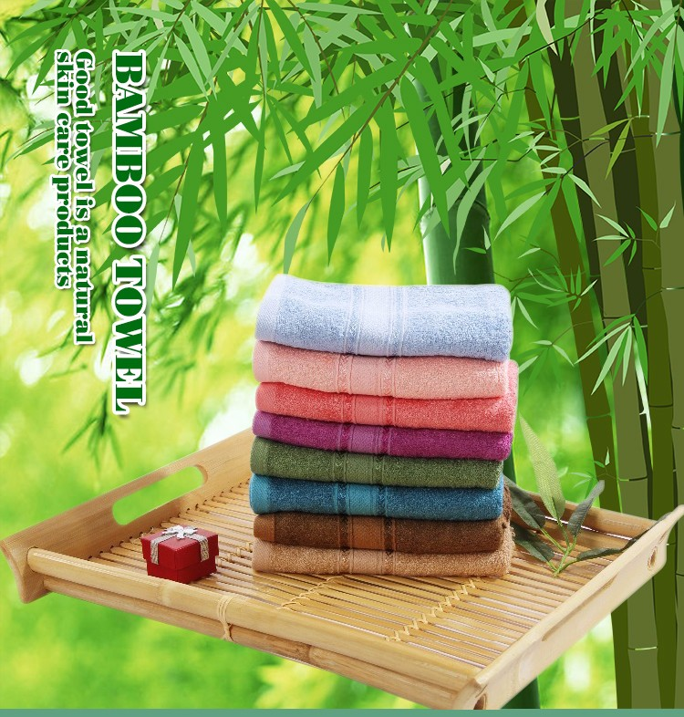 Bamboo Kitchen Towels Wholesale: Wholesale Large Stock Printed Bamboo Bath Towel