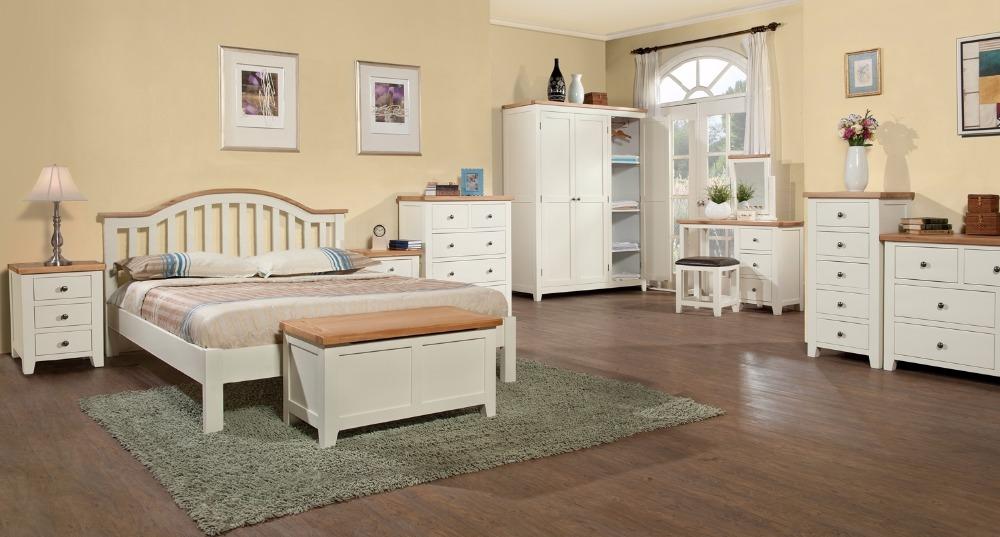 wit en eiken slaapkamer meubels vietnam-slaapkamer sets-product-id, Deco ideeën