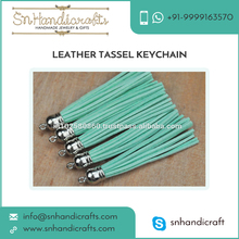 Promotional Bulk Leather Tassel Keychain for Women by a Leading Manufacturer