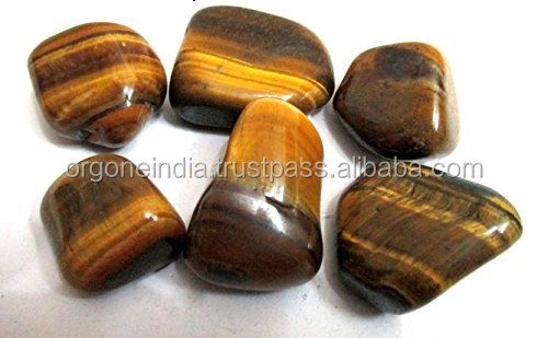 Jet Tiger Eye Tumbled Stone Free Booklet Jet International Crystal Therapy