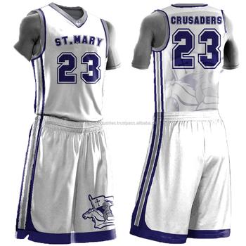 Best Custom 100%polyester Basketball Jersey fa9ea2974