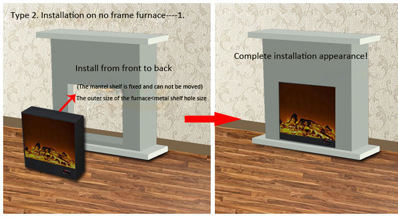 recessed fireplace tv stand lowes decorative electric fireplace tv stand fireplace made in China