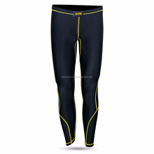 High quality slim fit running sports wear mens compression tights leggings for men