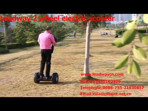 Leadway mini 2 wheel self-balancing electric scooter