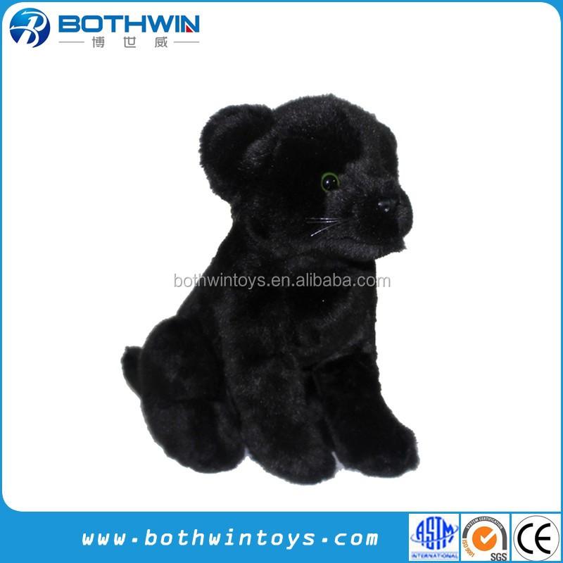 478d3f761f7c Custom Plush Quality Black Panther Soft Toy Stuffed Animals - Buy ...