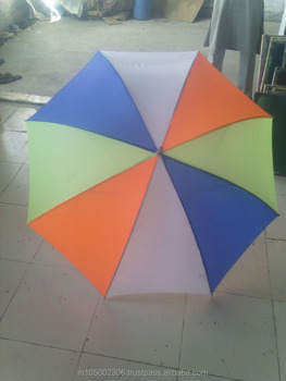 Long sturdy and attractive promotional umbrella