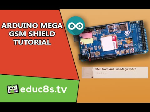 Arduino Tutorial: GSM/GPRS SHIELD SIM900) SMS Send and Receive Tutorial on Arduino Mega 2560