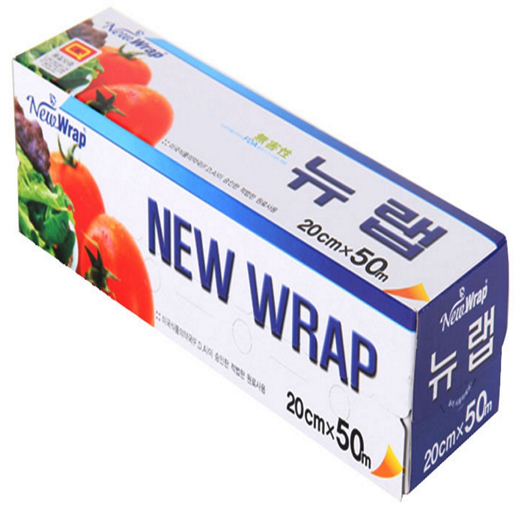 Korean Food Paper wrap / No addition of 'surface active agent' and 'plasticizer'.