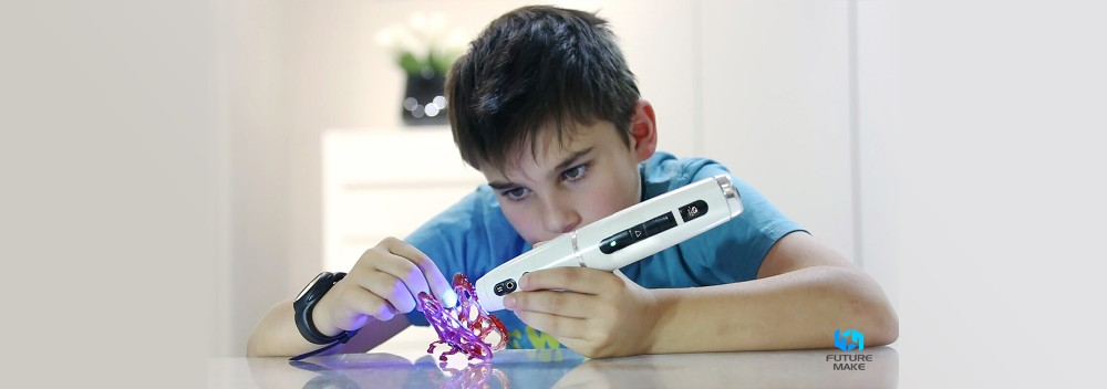 SLA Technology 3D Pen Kit 3D Drawing Pen Light-Curing 3D Pen