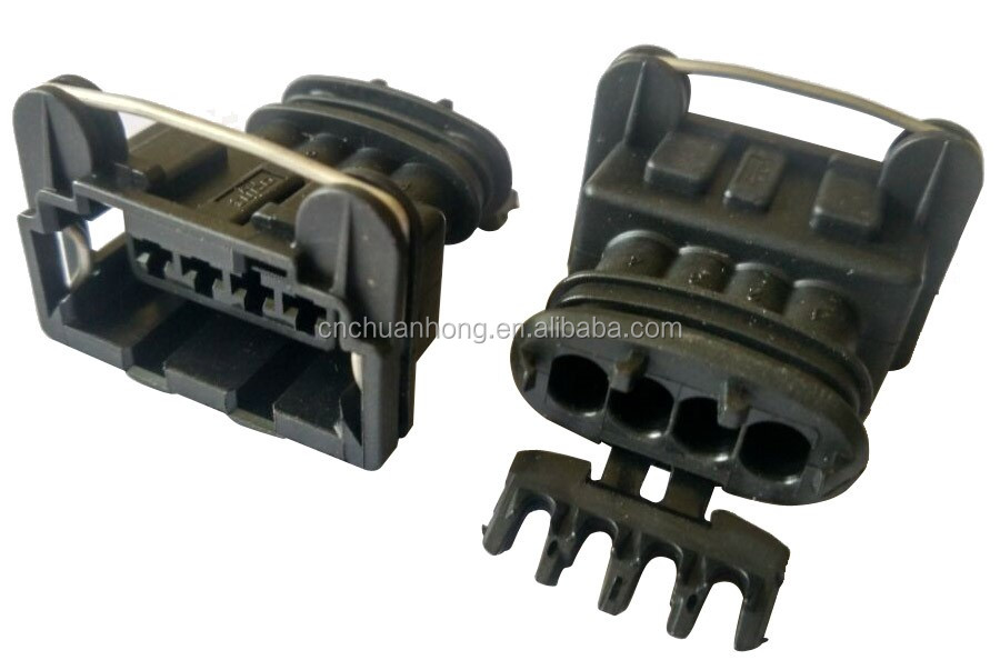multi port fuel injector repair connector gm auto 4 ways waterproof wire  harness connector dj70454-6 3-21