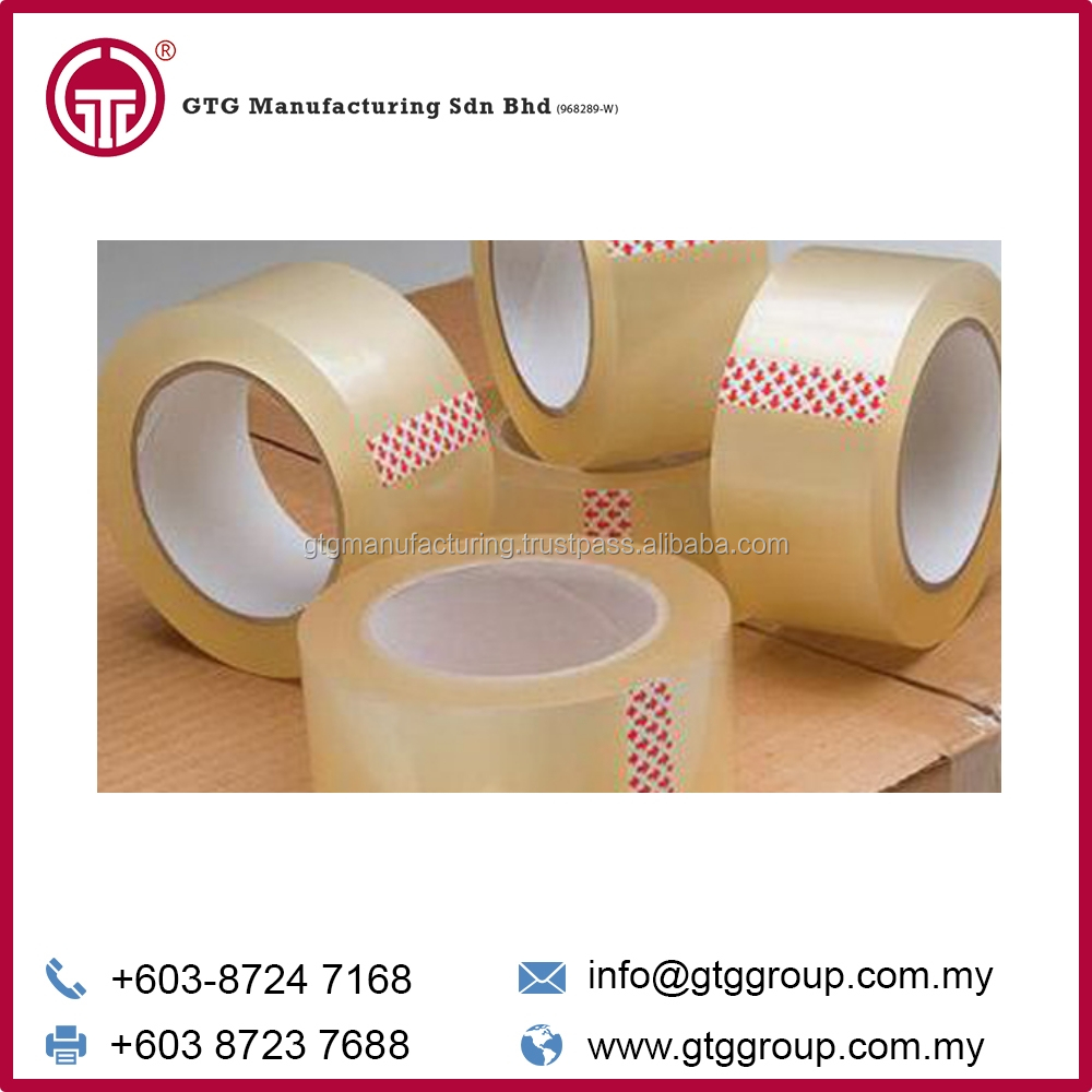 Single Sided General Purpose Adhesive Opp PackingTape