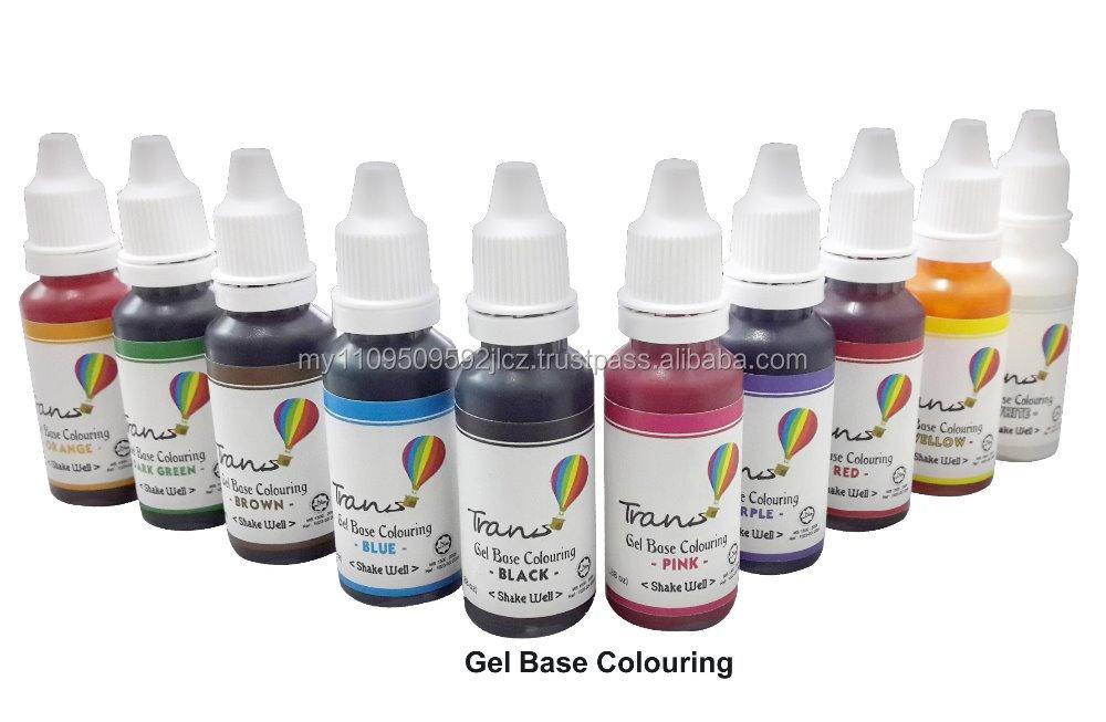 Gel Base Colouring - Buy Gel Base Colouring,Halal Food Colours,Food ...