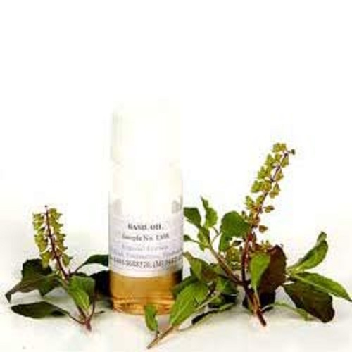 100% Pure and Natural Holy Basil Oil (OCIMUM SANCTUM OIL)