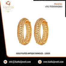 2 Pc Traditional Openable Bangles - 12630