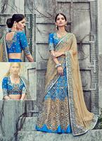 Designer Art Silk lehenga choli - Gujarati lehenga choli - Beautiful wedding lehenga - Traditional lehenga choli 4qse
