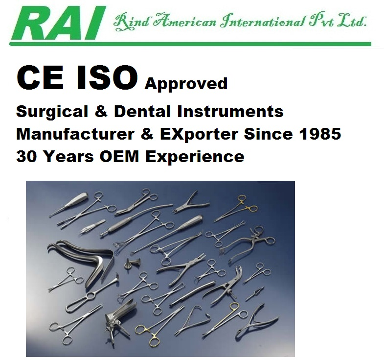 List Of Surgical Instruments - Buy Sialkot Manufacturers Sialkot Exporters  Surgical Instruments Importers Surgical Instruments Exporters,Ce Approved