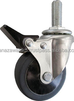 Trusco Screw-in Quiet Casters (elastomer Wheel Assembly ...
