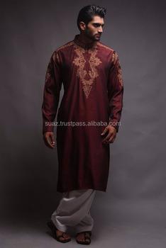 Embroidered Designer Kurtas Men Eastern Wear Designs For Gents