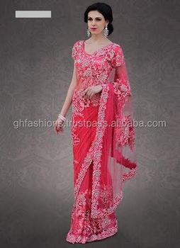 Indian Wedding Designer Saree 2016 2017