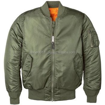Quality Men Flight Jacket/custom Design Wholesale Emroidered Ma-1 ...
