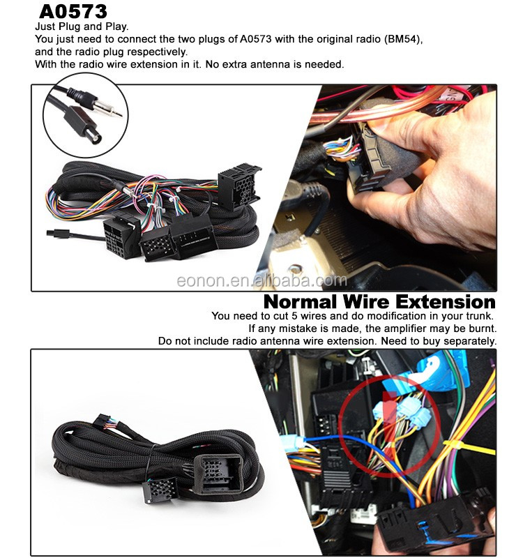 UT8uAAqXBtaXXagOFbXV eonon a0573 17 pin 40 pin extended installation wiring harness for eonon wiring harness at n-0.co