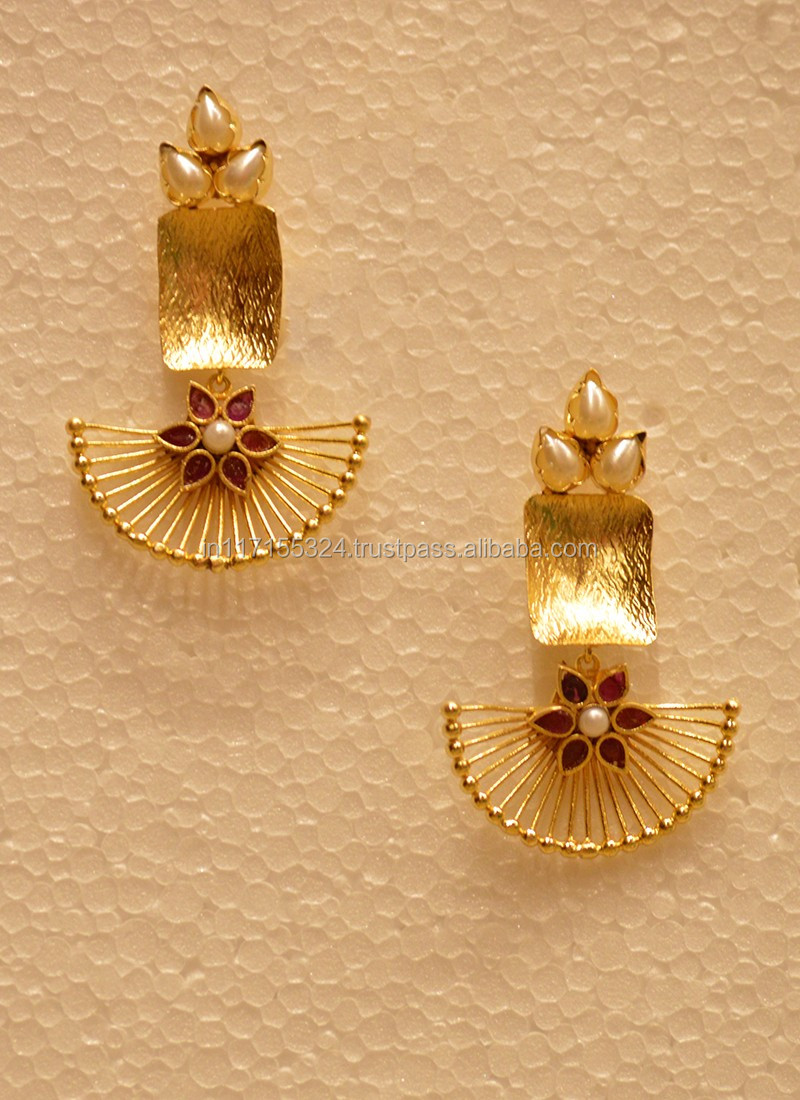 New 2017 Latest Gold Earring Designs - Buy New 2017 Latest Gold ...
