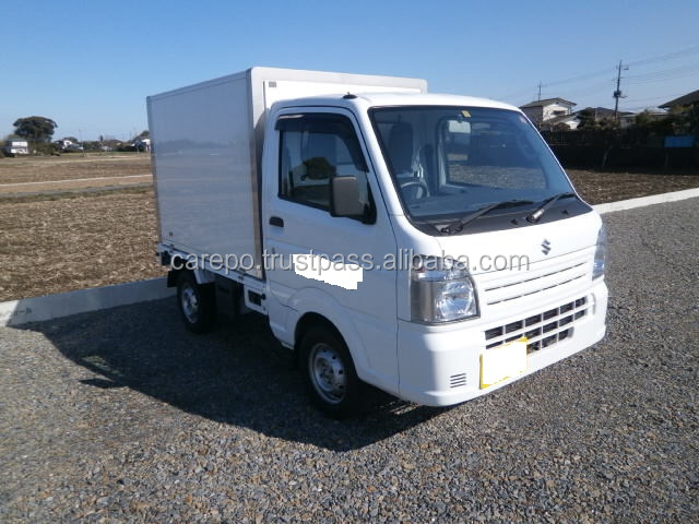 USED RIGHT HAND DRIVE TRUCK SUZUKI CARRY TRUCK EBD-DA16T 2014 WITH REFRIGERATOR & FREEZER
