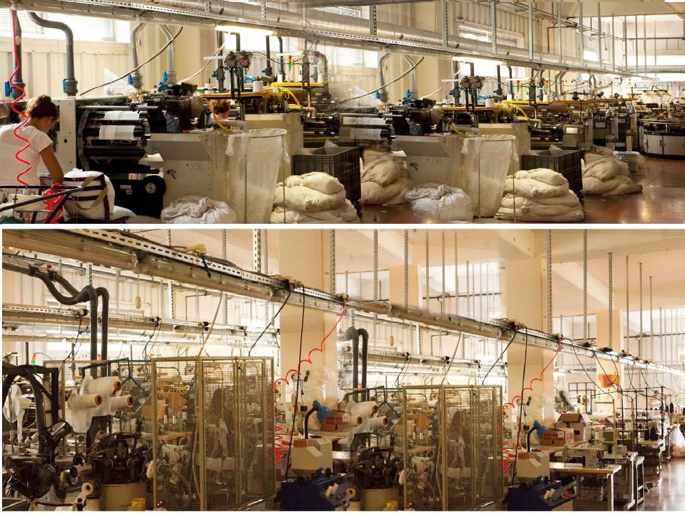 51b49416f44f0 High tech Machines À Coudre Équipement Nous réalisons la fabrication de nos  produits avec nos machines à coudre haut de gamme.