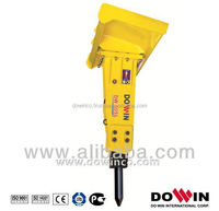 Korea Technology Silent mini Hydraulic Concrete rock Breaker hammer