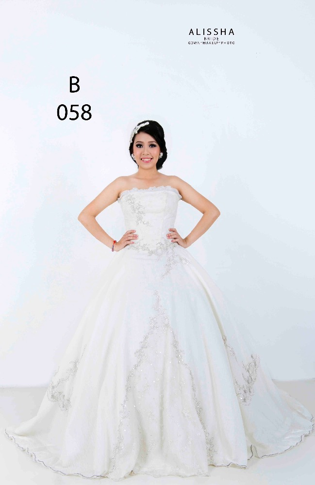 Gown Wedding Ready Stock