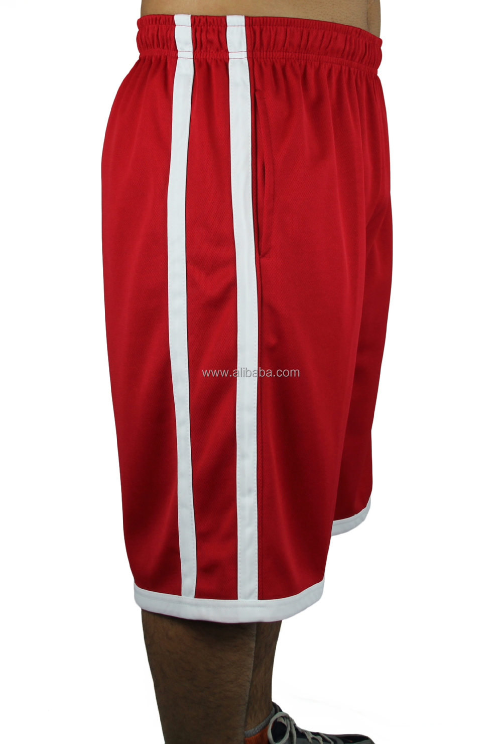 Twin Stripes Basketball Shorts