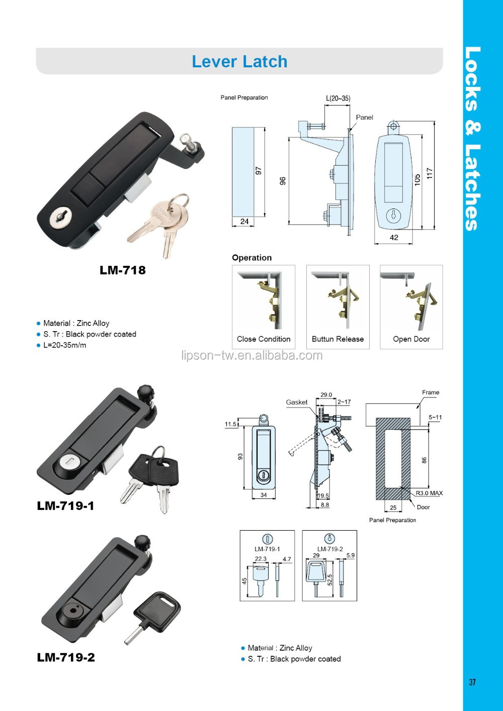 electrical panel door latch  | alibaba.com