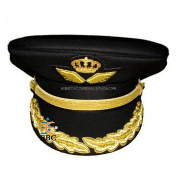 Jordan Airline Officer Uniform Embroidered Peak Cap c3bd4cc0efa